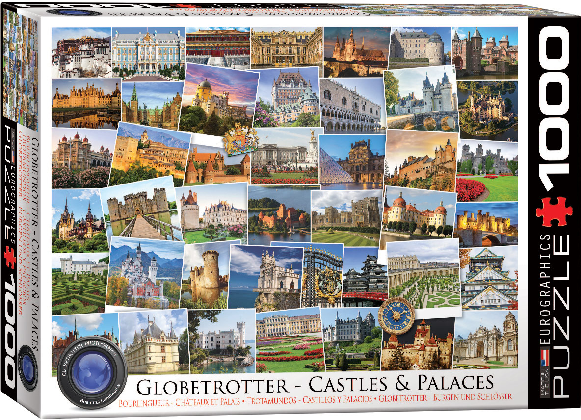globetrotter collection castles u0026 palaces jigsaw puzzles at