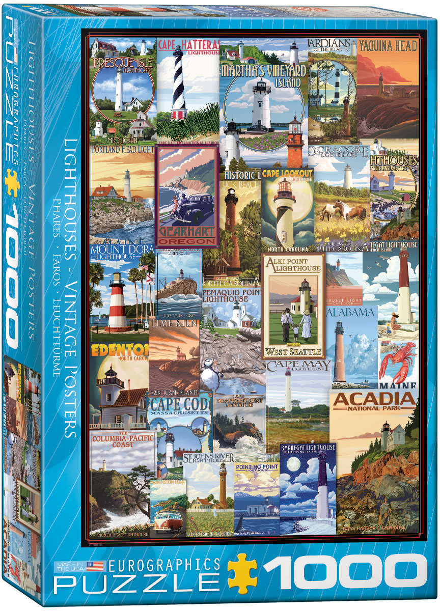 vintage ads lighthouses jigsaw puzzles at eurographics