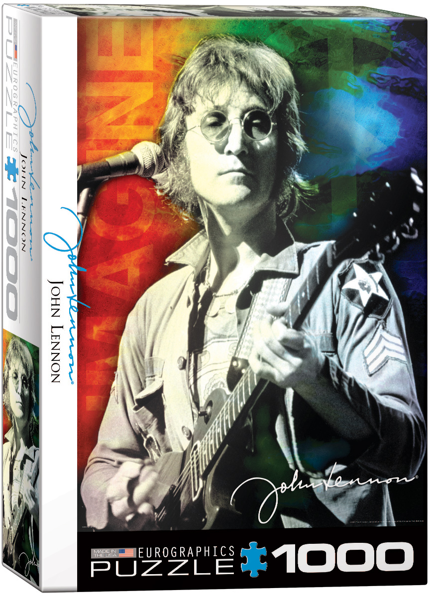 John Lennon Live In New York Jigsaw Puzzle At Eurographics
