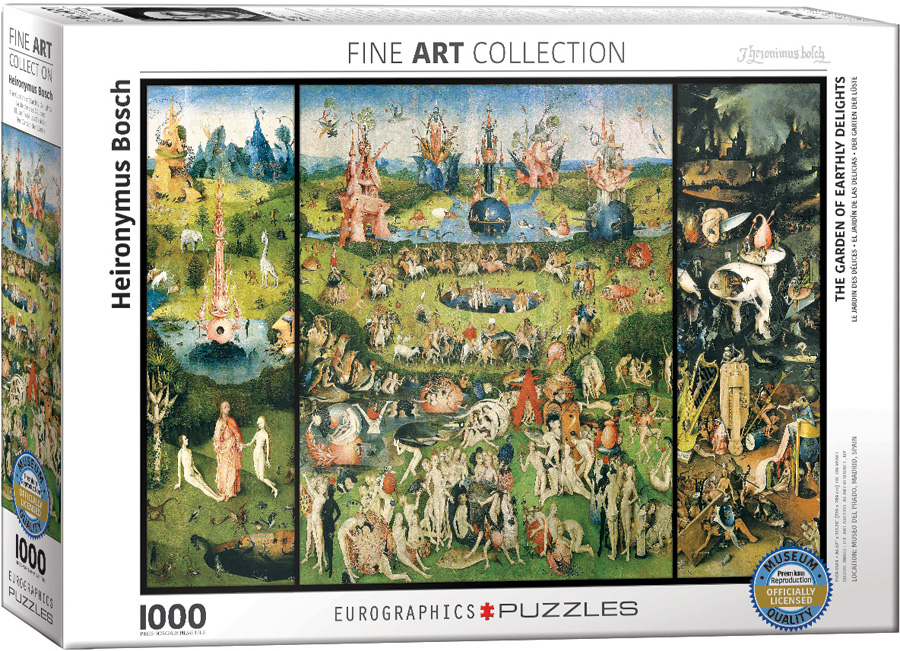 The Garden Of Earthly Delights Puzzles At Eurographics