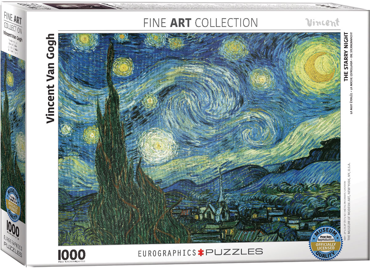 Starry Night Jigsaw Puzzle By Van Gogh At Eurographics