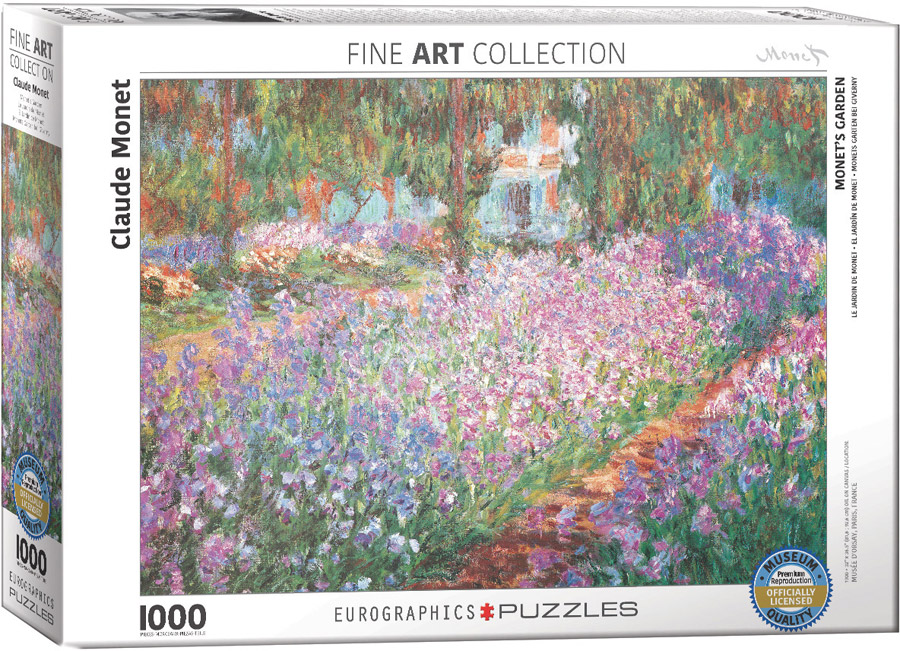 Le Jardin De Monet A Giverny By Claude Monet At Eurographics