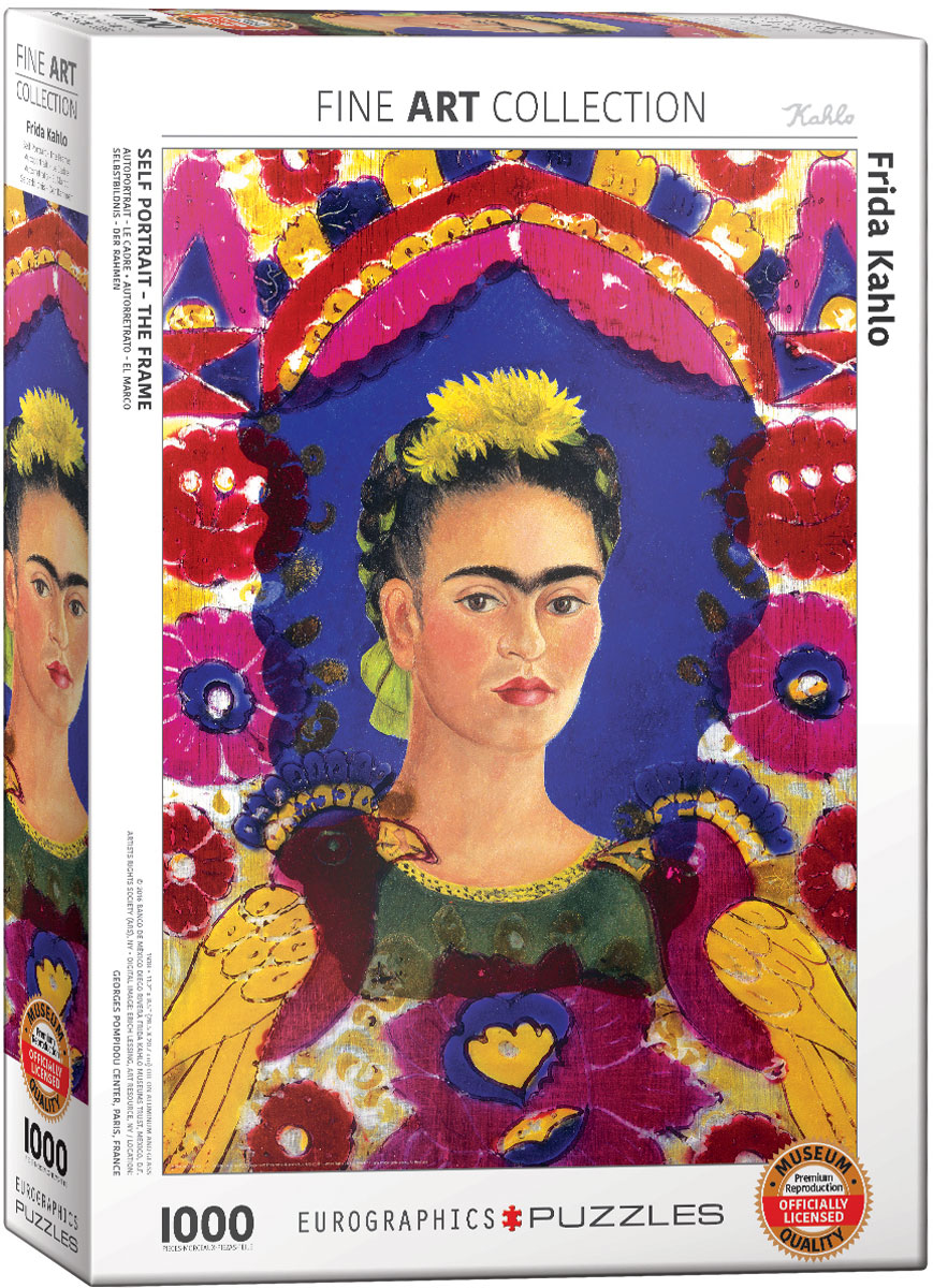 Frida Kahlo -Self Port...M Images Fine Art Photography