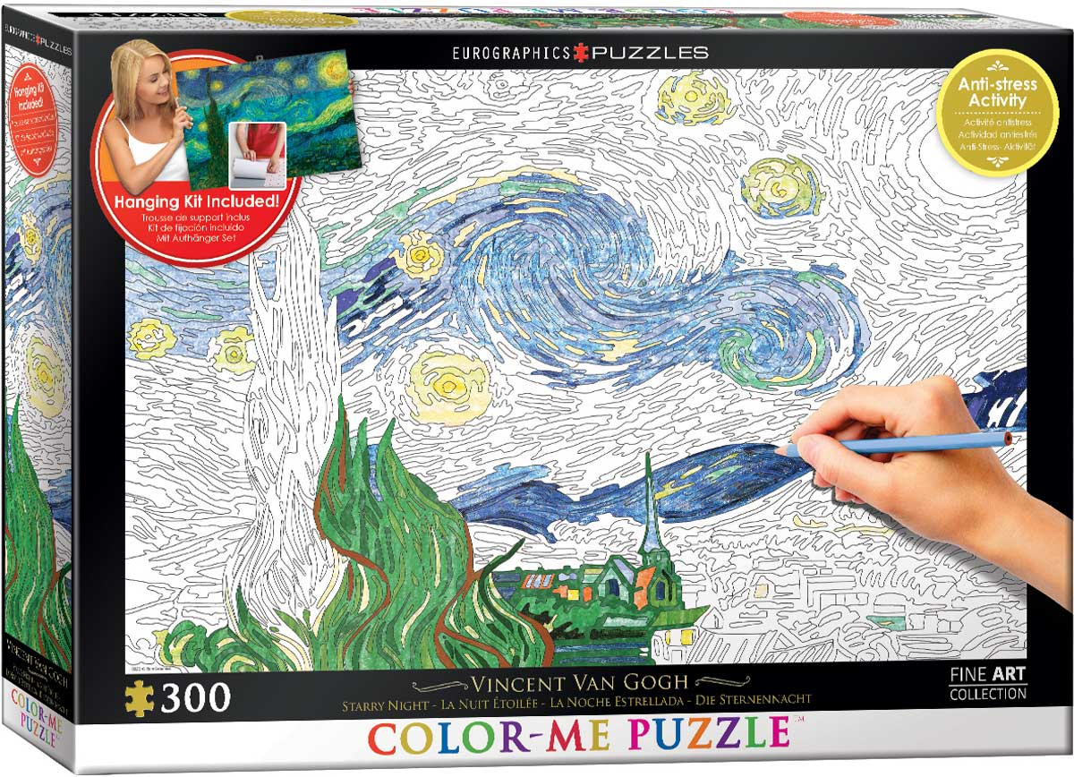 Starry Night Color Me Puzzles At Eurographics