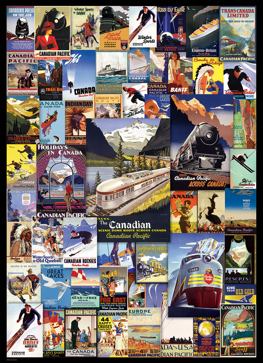 Canadian Pacific Railroad Adventures At Eurographics